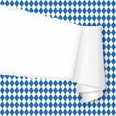 Ripped Open Paper German Oktoberfest