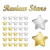Review Stars Vector