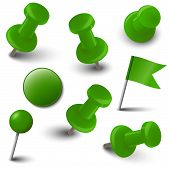 Collection Of Marking Accessories - Green