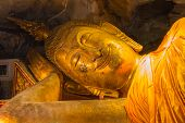 Smile Reclining Buddha Statue