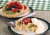 Fruit Tart With Cream