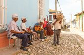 Traditional Musicians And Everyday Life In Trinidad, Cuba