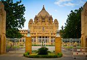 Umaid Bhawan Palace Entrance