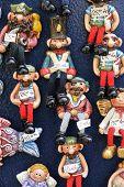 Souvenirs for sale in Makarska, Croatia
