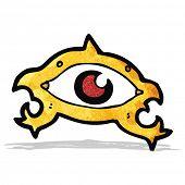 cartoon all seeing eye
