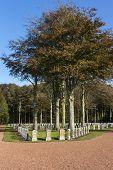 Belgian Ww I Cemetery In Houthulst.