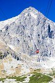 cable car to Lomnicky Peak, Vysoke Tatry (High Tatras), Slovakia