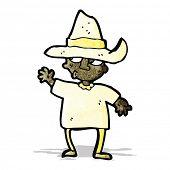 cartoon peasant farmer