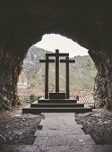The Three Crosses In Covadonga
