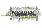 picture of merge  - Word Cloud with Merger  - JPG