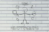 picture of juggling  - productivity and multitasking - JPG