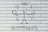 pic of multitasking  - productivity and multitasking - JPG