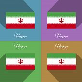 foto of tehran  - Flags of Iran - JPG