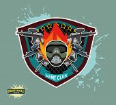 picture of paintball  - paintball emblem club - JPG