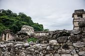 picture of mayan  - Panoramic View of Historic Mayan Site - JPG