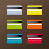 Iconos de la tarjeta