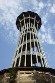 Sauvaberlin Tower in Lausanne Switzerland