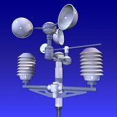 meteorological weatherstation (measurement equipment)