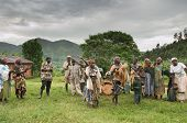 Ethnic dances of Batwa pigmy in Uganda