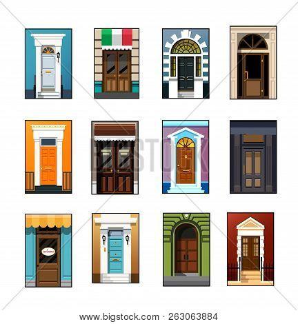 Entrance Doors Set Of Entrance