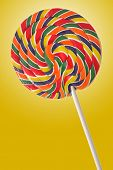 colorful candy lollipop
