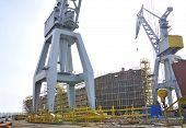 stock photo of shipbuilding  - Shipbuilding - JPG