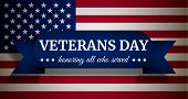 Usa Veterans Day Concept Background. Realistic Illustration Of Usa Veterans Day Vector Concept Backg poster