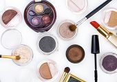 stock photo of makeup artist  - cosmetics - JPG