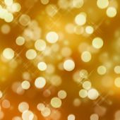 golden glittering lights