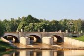 Tsaritsynso-dam (figured Bridge)