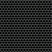 grid mesh background, black metal with rough texture. macro of speaker grill.