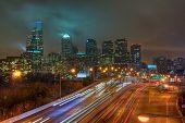 Skyline de Philadelphia à noite