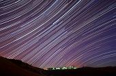 IBM Almaden Research Center Star Trails