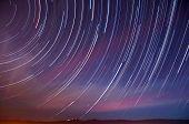 Quadrantid Meteor Over Mt. Hamilton
