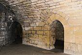 Interior of Medieval Castle