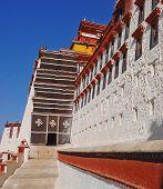 Tibetan Building In Potala Palace