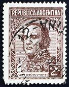 Estampilla Argentina 1935 Justo José de Urquiza, Presidente