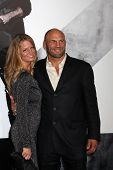Los Angeles - AUG 15:  Randy Couture arrives at the