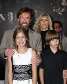 Los Angeles - AUG 15:  Chuck Norris, family arrives at the