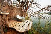 Badezimmer in Afrika