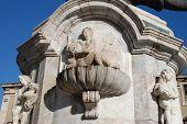 Elephant fountain (close-up)