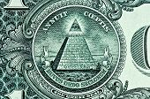 Pyramid On One Dollar Bill