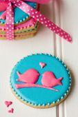 Cookies de agapornis