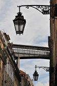Lamps And Skywalk