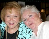 LOS ANGELES - AUG 18:  Lee Bell, Susan Flannery at the book signing for William Bell Biography at Ba
