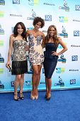 Los Angeles - AUG 19:  Mayte Garcia, Nicole Murphy, Sheree Fletcher arrives at the 2012 Do Something