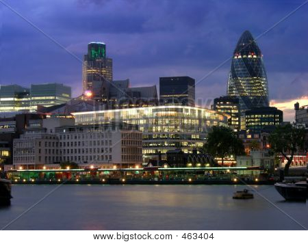 poster of London City By Night