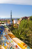 Gaudi's Parc Guell In Barcelona