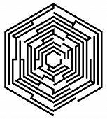 Hexagonal Maze