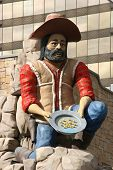 Old Miner Statue